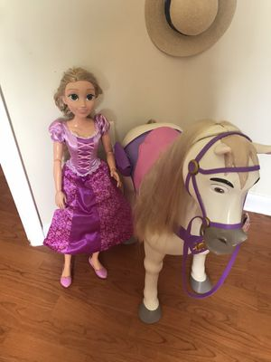 Rapunzel and max for Sale in Washington, DC