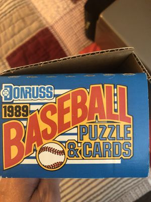 1989 Donruss complete set baseball cards for Sale in Woodland, CA