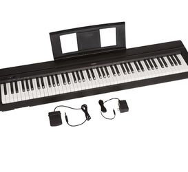 YAMAHA P71 88-Key Weighted Action Digital Piano With Sustain Pedal And Power Supply for Sale in North Las Vegas,  NV