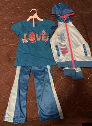 Girls 3 piece troll set for Sale in The Bronx, NY