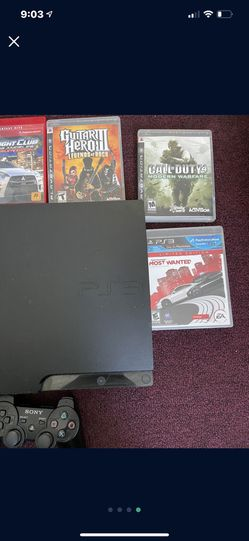 Slim PS3 Complete With Games  for Sale in El Monte, CA
