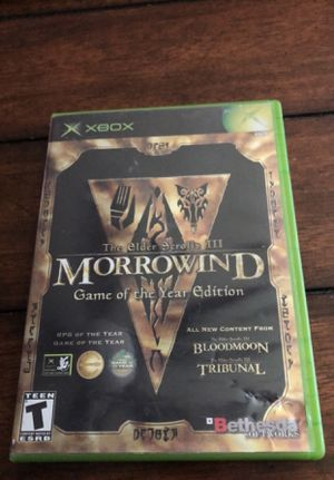 Xbox Morrowind GOTY Edition for Sale in Buckeye, AZ