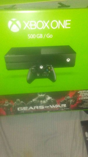 Xbox one 500gb bundle : Everything you see plus Xbox live and 1 year warranty for Sale in Santa Monica, CA