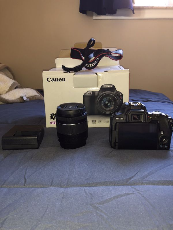 Canon Rebel SL2 with 18-55mm Kit Lens