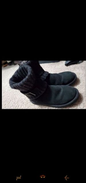 UGG black boots size 7. for Sale in Mesquite, TX