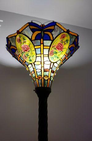 Stained glass floor lamp for Sale in San Bernardino, CA