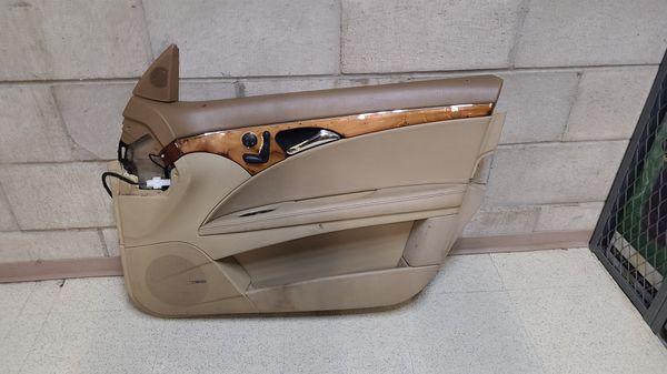 Mercedes e350 passenger front door parts