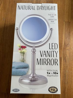 LED make up mirror for Sale in Waltham, MA