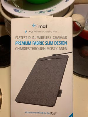 Dual wireless charging pad by TYLT for Sale in La Mesa, CA