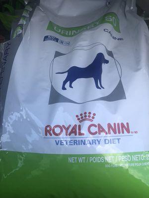Royal canin 25lb dog food for Sale in Manassas, VA