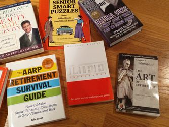 Longevity And Retirement Books! for Sale in Mercer Island,  WA