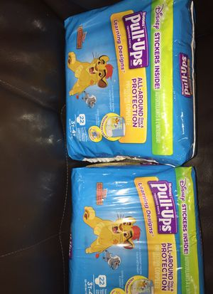 Huggies pull up 2packs 3t 4t for Sale in Elmont, NY