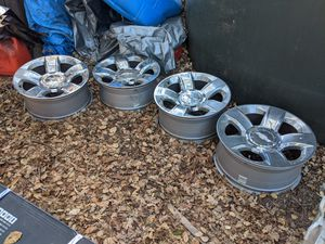 """Rims, Chevy, 20"""", Chrome for Sale in Carmel Valley, CA"""