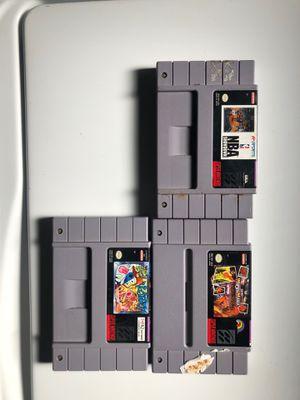 Super Nintendo games for Sale in Glenview, IL