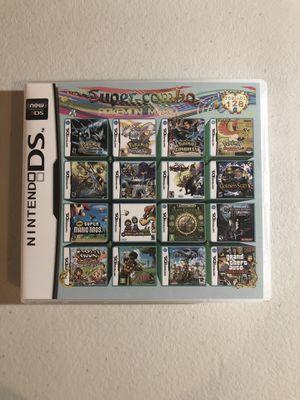 128 in 1 Nintendo DS MultiCart Pokemon+ for Sale in Morada, CA
