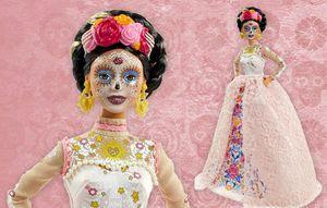 20 Barbie Dia De Los Muertos (Day of The Dead) Doll Gold Label Signature for Sale in Orlando, FL