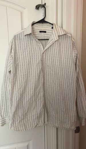 Burberry button up for Sale in Fort Myers, FL