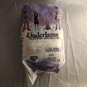 Pampers UnderJams night wear for Sale in Whittier, CA