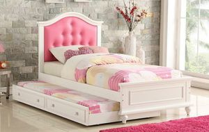 Twin Bed with Trundle and Mattresses for Sale in Fort Lauderdale, FL
