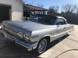 1963 Chevy impala fully restored off the frame Convetible for Sale in Ontario, CA