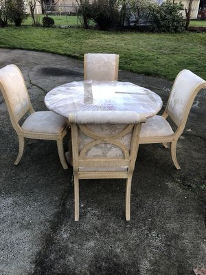 Dining table and chairs for Sale in Vancouver, WA
