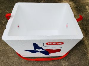 Small HEB Styrofoam Cooler for Sale in Round Rock, TX