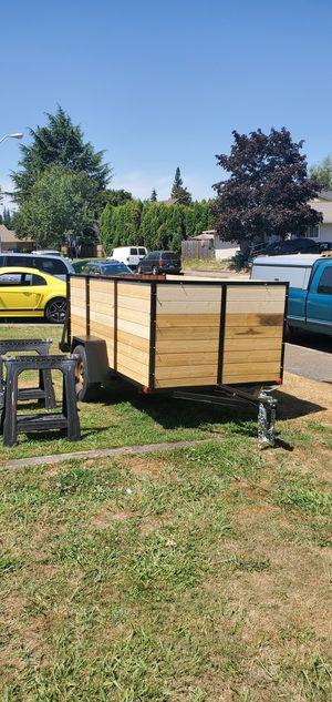 5' x 10' single axle trailer. for Sale in Newberg, OR