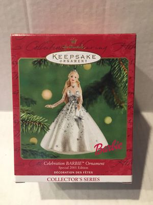 Hallmark Keepsake Barbie Christmas Ornament 2001 for Sale in Tustin, CA