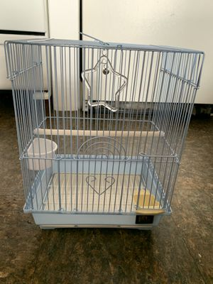 Teal blue bird cage for Sale in New Hyde Park, NY