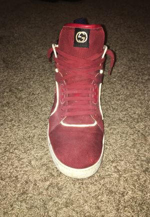 Burgundy Gucci shoes size 12 for Sale in Cleveland, OH