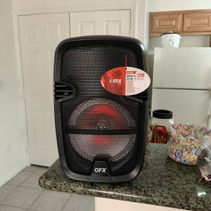 QFC Powered Bluetooth Party Speaker for Sale in Las Vegas, NV