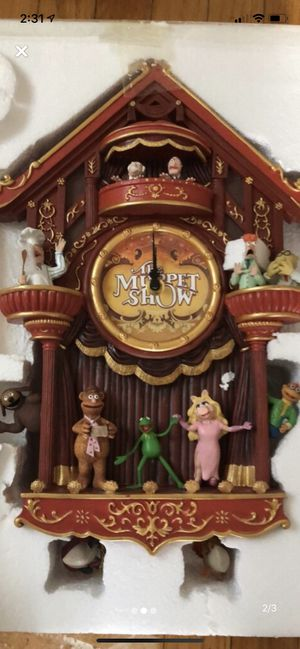 The Muppets Show Cuckoo Clock for Sale in Quincy, MA