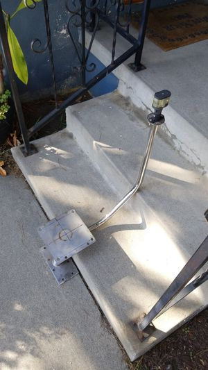 Rader mount with anchor light.stainless for Sale in Hawthorne, CA