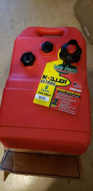 Moller low perm certified 6- gallon fuel tank new for Sale in Peoria, AZ