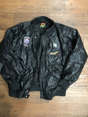 Vintage Super Bowl 26 Space Auto Racing Bomber Jacket for Sale in Scottsdale, AZ