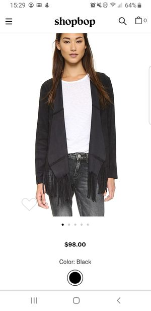 Jacket - WAYF size S Faux Suede Fringe Jacket for Sale in Los Angeles, CA