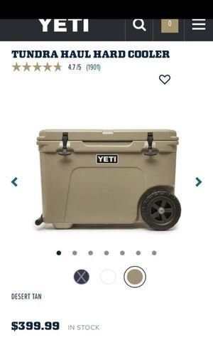 Yeti tundra haul Cooler for Sale in San Jose, CA