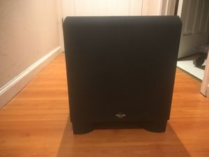 "KLIPSCH KSW-10 POWER SUBWOOFER ( super clean and nice) 10"" for Sale in San Leandro, CA"