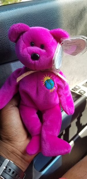 The Beanie Babies Collection (Millennium) DOB 1999...Like New for Sale in Baltimore, MD