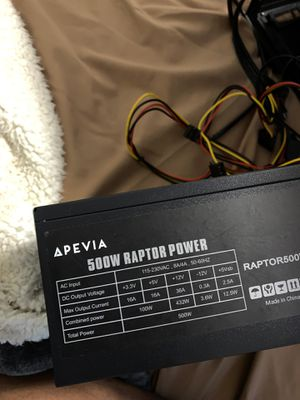 New barely used 500W power supply for Sale in East Orange, NJ