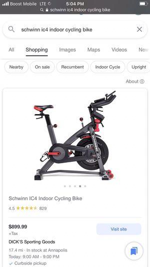 Indoor Exercise bike for Sale in Landover, MD