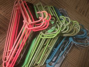 Free plastic hangers for Sale in San Diego, CA