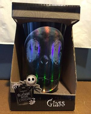 Disney Nightmare Before Christmas Glass Tumblr for Sale in Fresno, CA