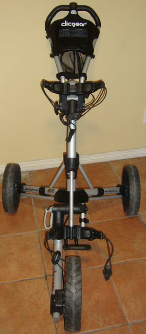Clicgear 3.5+ Golf Push Pull Cart Collapsible for Sale in Carson, CA
