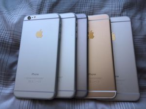 Unlocked iPhone 6 Plus 16gb or 64gb Lot of 5 like new Condition for Sale in North Miami, FL