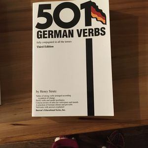 501 German Verbs, 3rd Edition for Sale in El Sobrante, CA