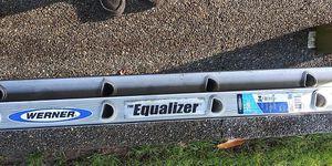 werner equalizer aluminum extension ladder for Sale in Tacoma, WA