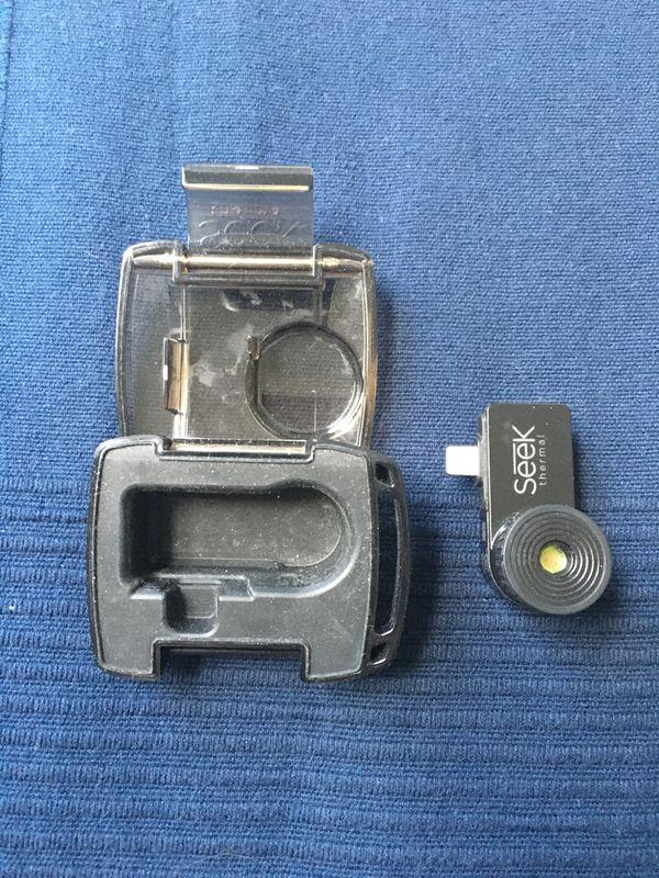 Thermal camera iOS Seek Thermal