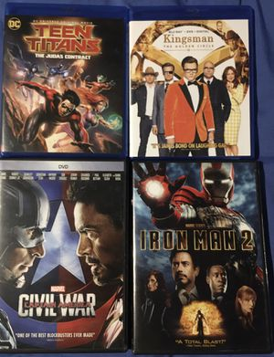 Various DVDs and Blu-Rays for Sale in Baton Rouge, LA