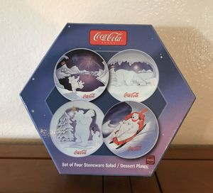Coca Cola Polar Bear Themed Plates for Sale in La Puente, CA